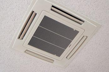 天井埋込型エアコンのクリーニング・洗浄|エアフレッシュ新潟